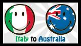 Italy to Australia