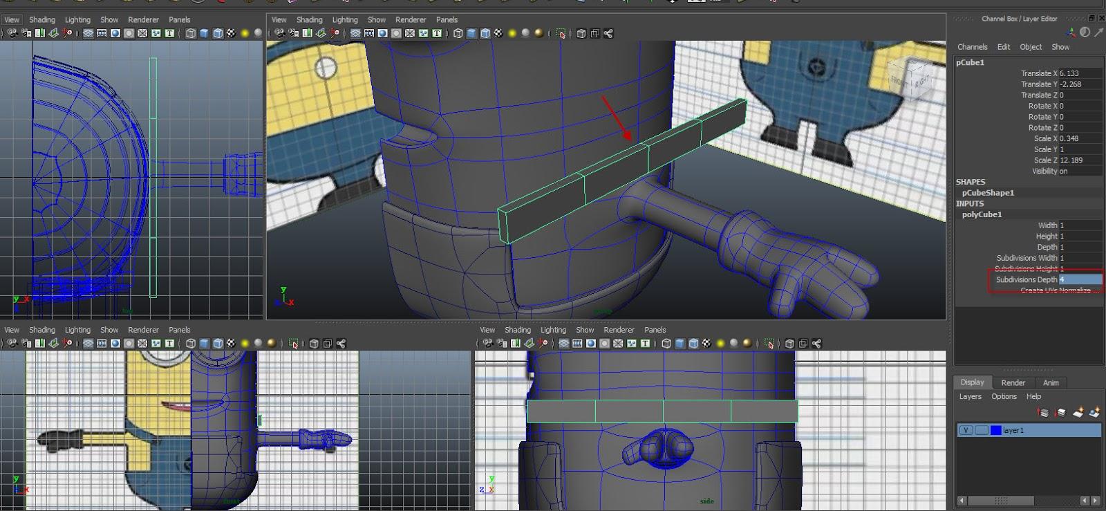Modeling belt 01