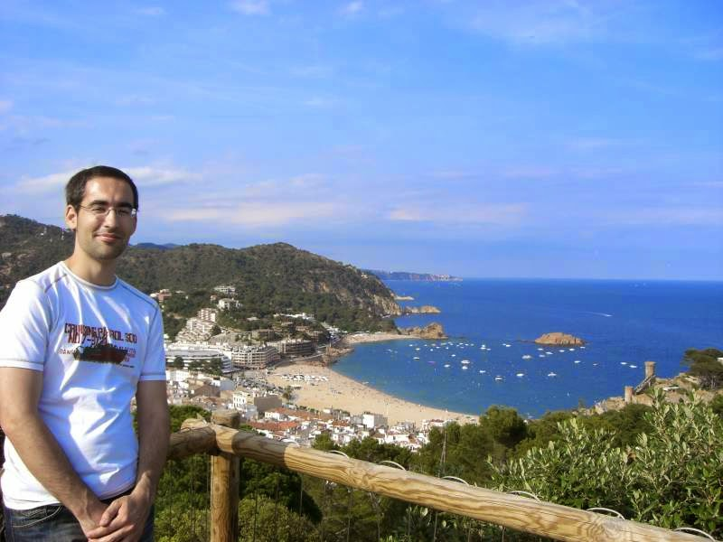 Tossa de Mar from Cami de Ronda