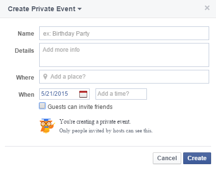 training  facebook party training, Party invitations