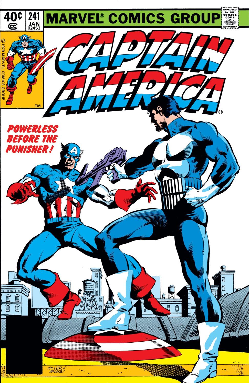 Captain America (1968) Issue #241 #156 - English 1