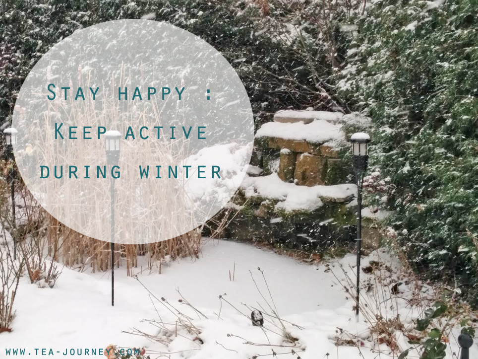 Stay happy : Keep active during winter seasonal depression