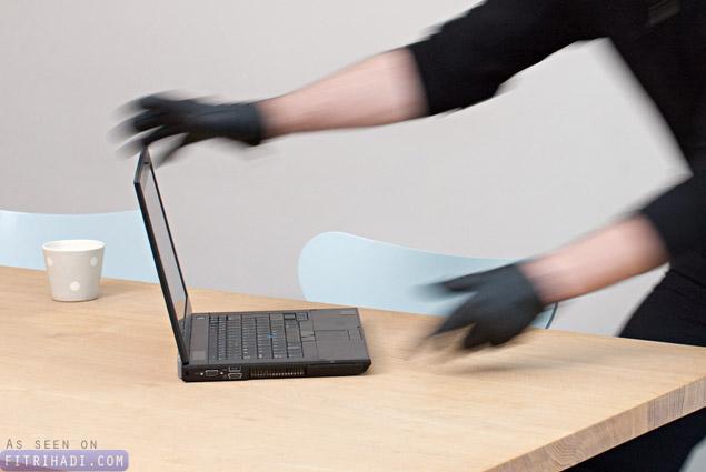 Tips Elak Laptop Atau Notebook Dicuri