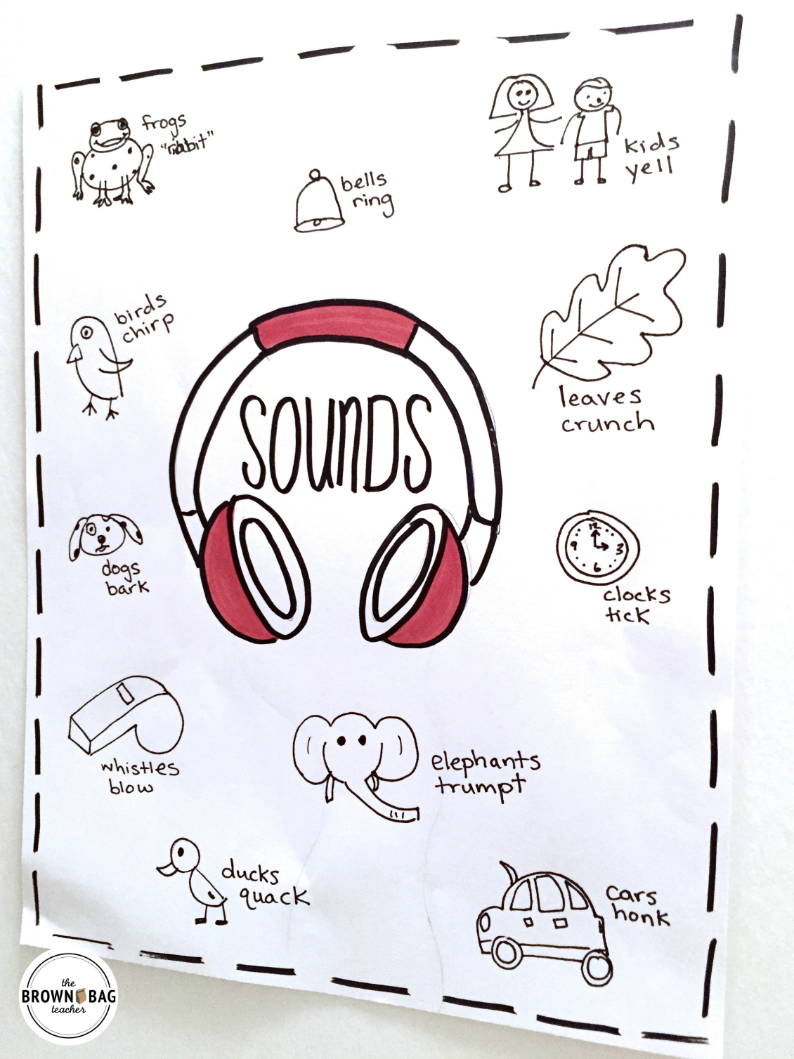 Workbooks sound energy worksheets : Sound: 1st Grade Science - The Brown Bag Teacher
