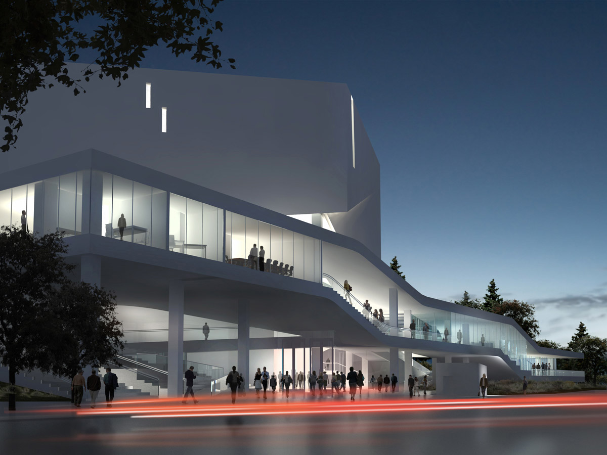 Mashouf performing arts center at san francisco state for National centre for the performing arts architecture