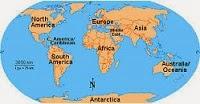 Mapas pelo mundo