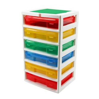Lego+project+case 9 ideas for organizing Legos, some definitely better than others