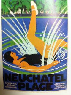 ancienne piscine Monruz Neuchâtel plage