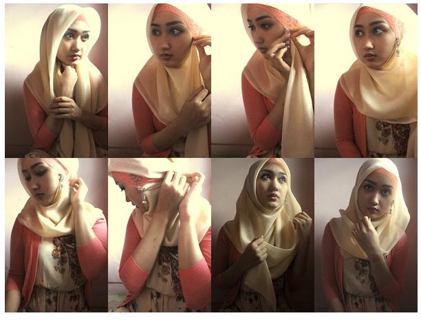 Cara Memakai Jilbab Dian Pelangi Unik