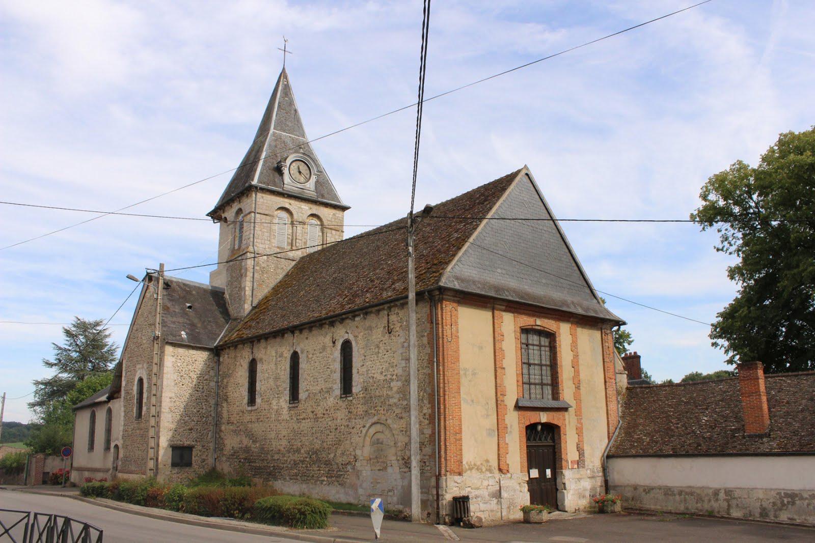 Eglise Saint-Rémi à Bézu-Saint-Eloi