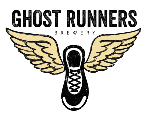 image of Ghost Runners logo, courtesy Ghost Runners Brewery