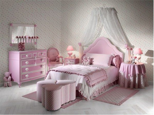 DECORATING IDEAS FOR GIRLS BEDROOM PINK COLOR