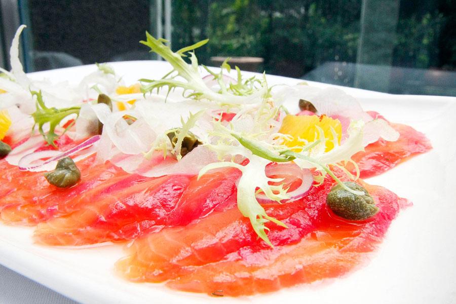 Makati Shangri-La's Circles Event Café Beetroot Salmon