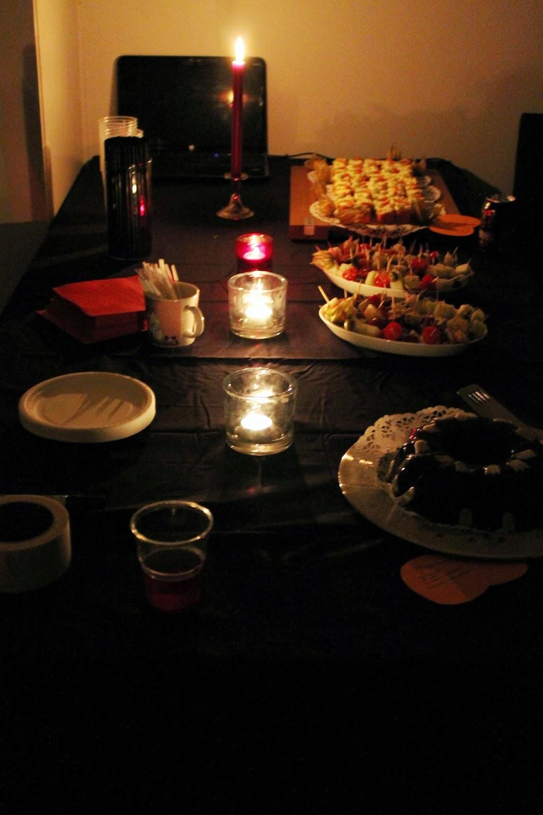party food presentation