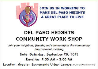 Councilmember Warren hosting Del Paso Heights Community Workshop