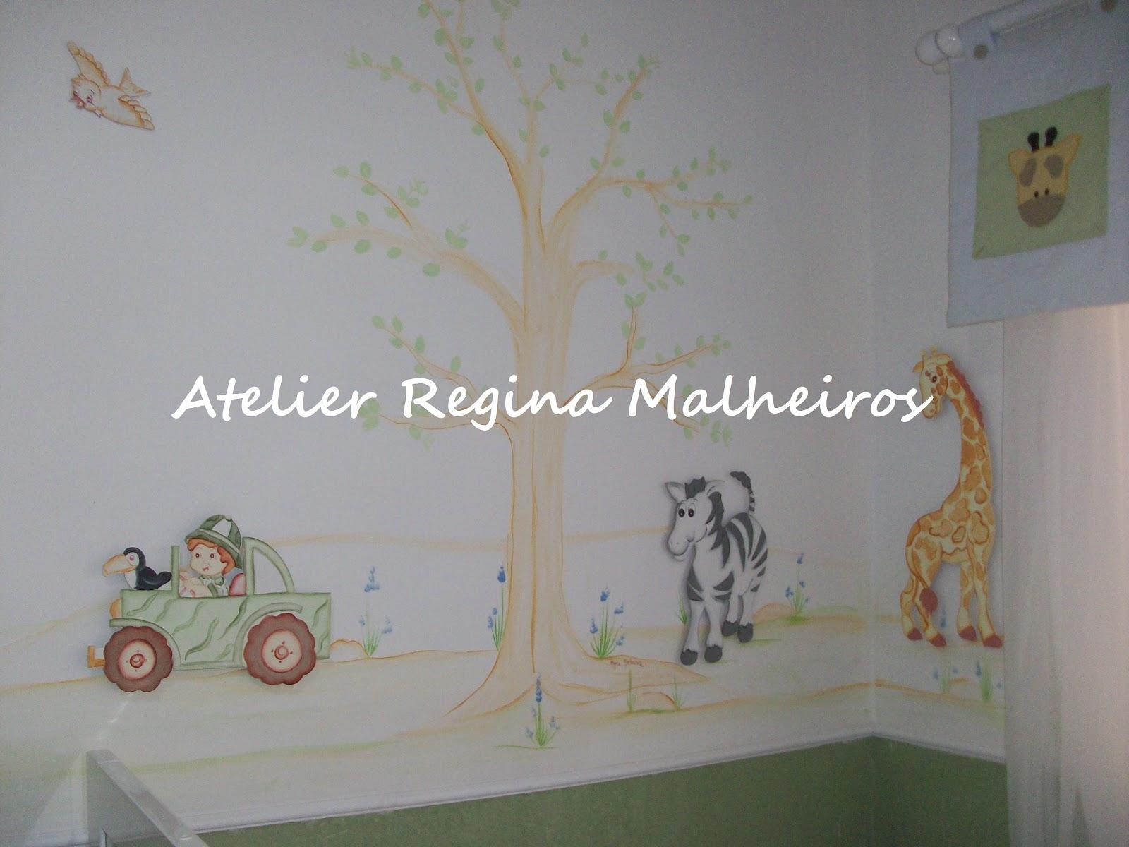 Doce Nenem Maio 2012 ~ Decoração De Quarto De Bebe Bichinhos Da Floresta