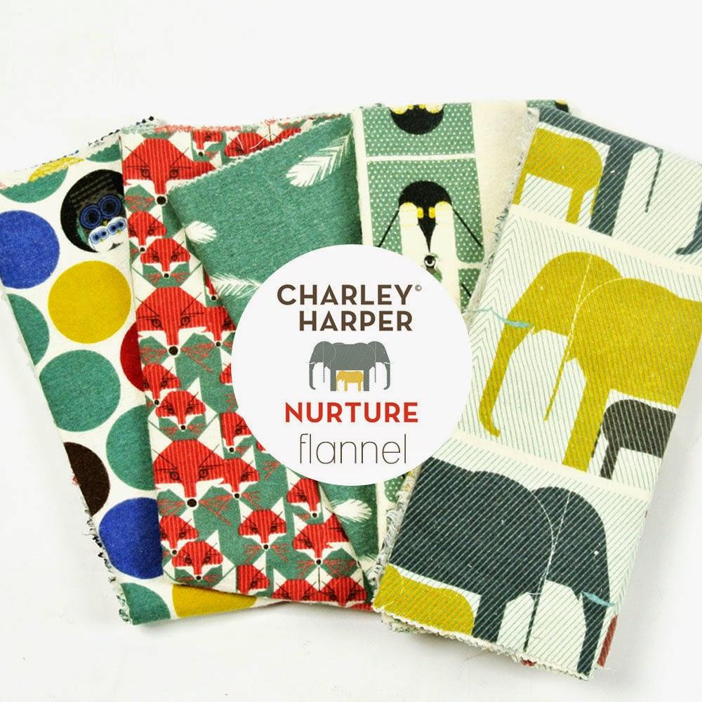 Charley Harper Nurture | Flannel