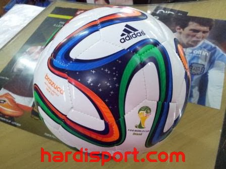 Bola Futsal Adidas Brazuca Sala World Cup G73653 Toko