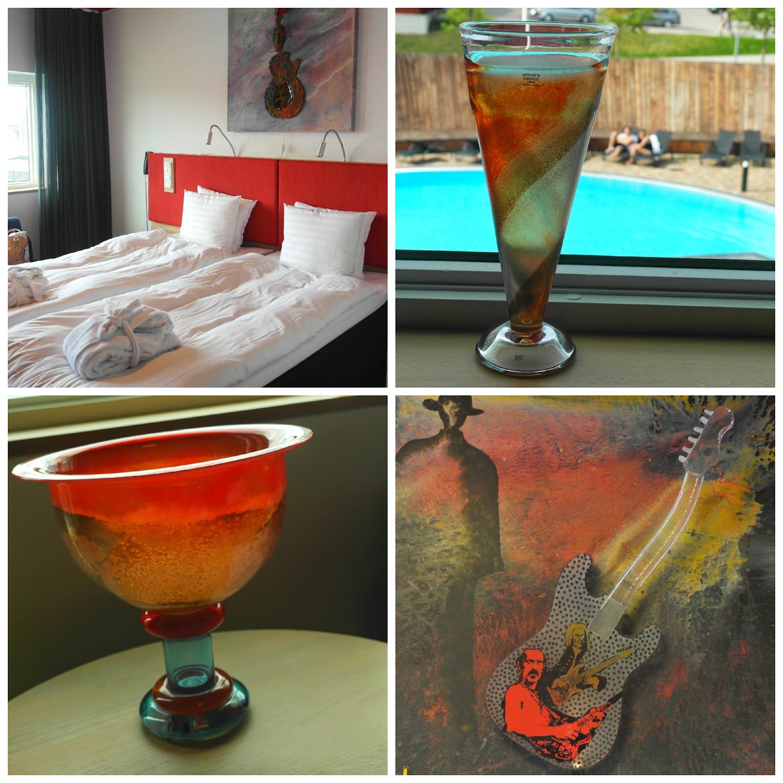 Kosta Boda art hotel room