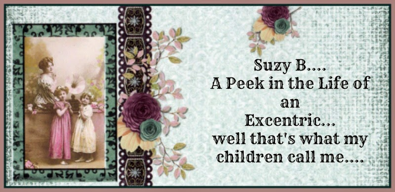 Suzie The Galloping Granny....The Secret Diary of a  Crafter