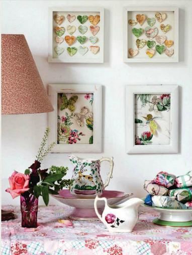 Shabby chic & crafty crafts ideas ~ Home Decorating Ideas