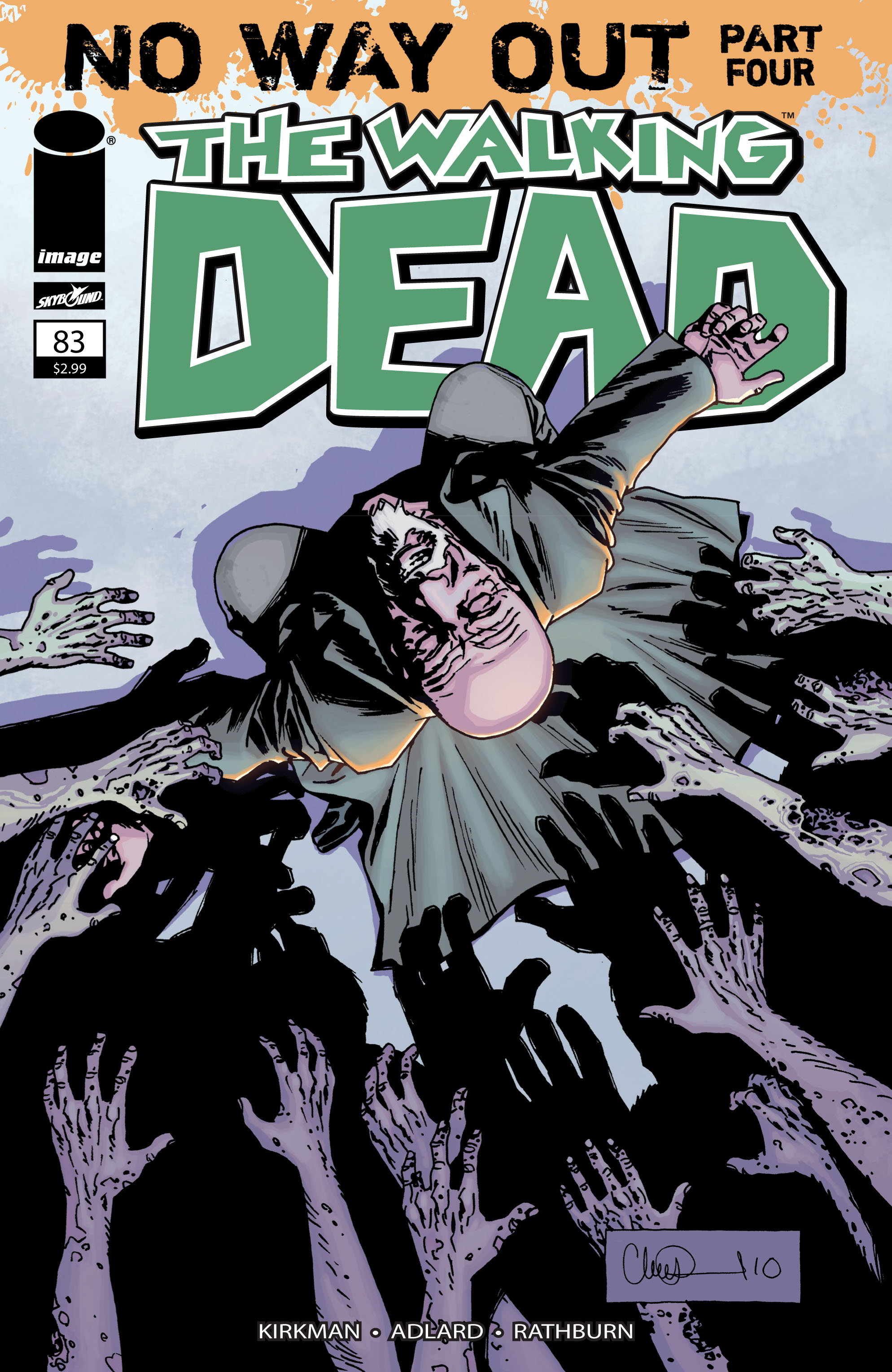 The Walking Dead Issue #83 Page 1