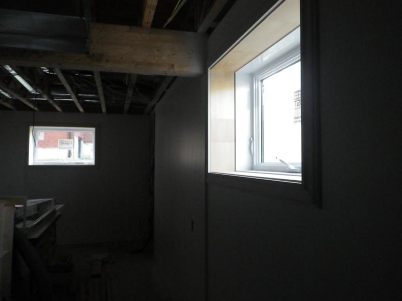 Jour 101 de travail mur du foyer chez les fournier for Soufflage de fenetre