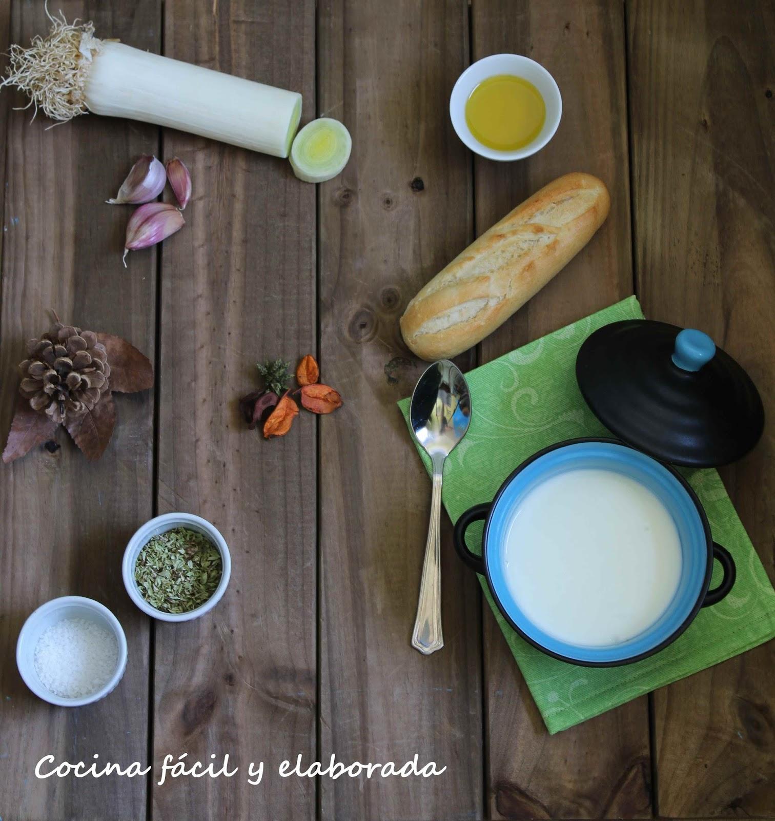 Cocina facil y elaborada vichyssoise crema fria de puerros for Sopas francesas famosas