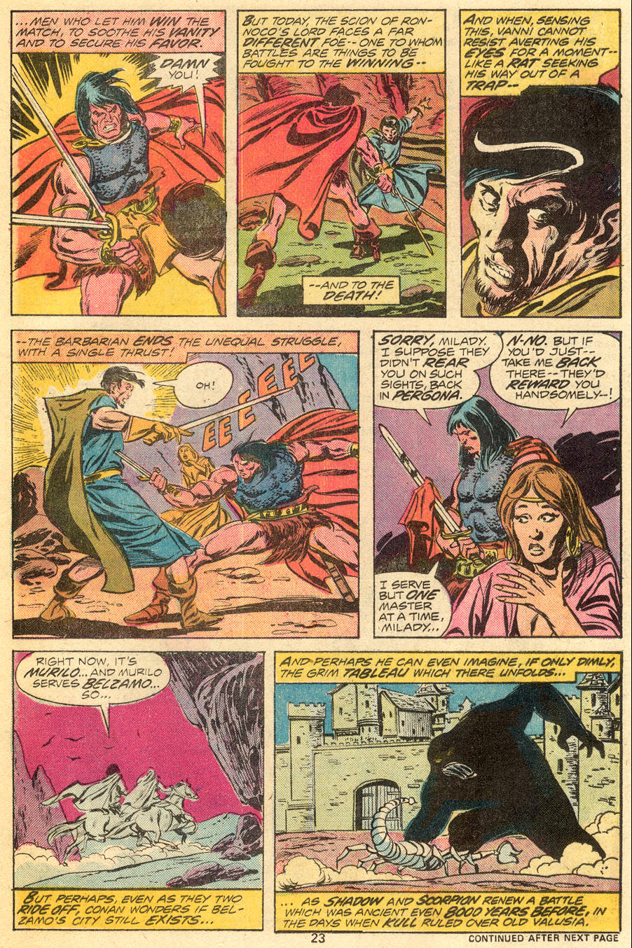 Conan the Barbarian (1970) Issue #55 #67 - English 15