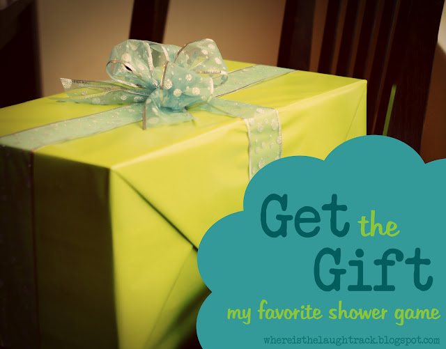 Wedding Shower Pass The Gift Poem : Where is the Laugh Track?: Get the Gift - My Favorite Shower Game