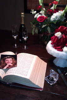 The family bible held a place of honor at Chris & Charlene's wedding.