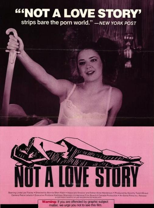 image Not a love story a film about pornography