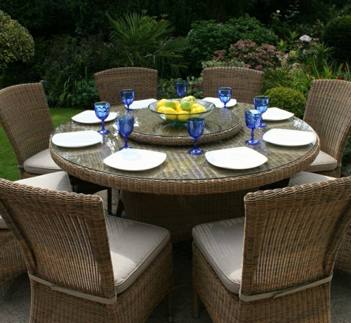 Rattan Woven Chairs - Contemporary Furniture