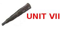 UNIT VII