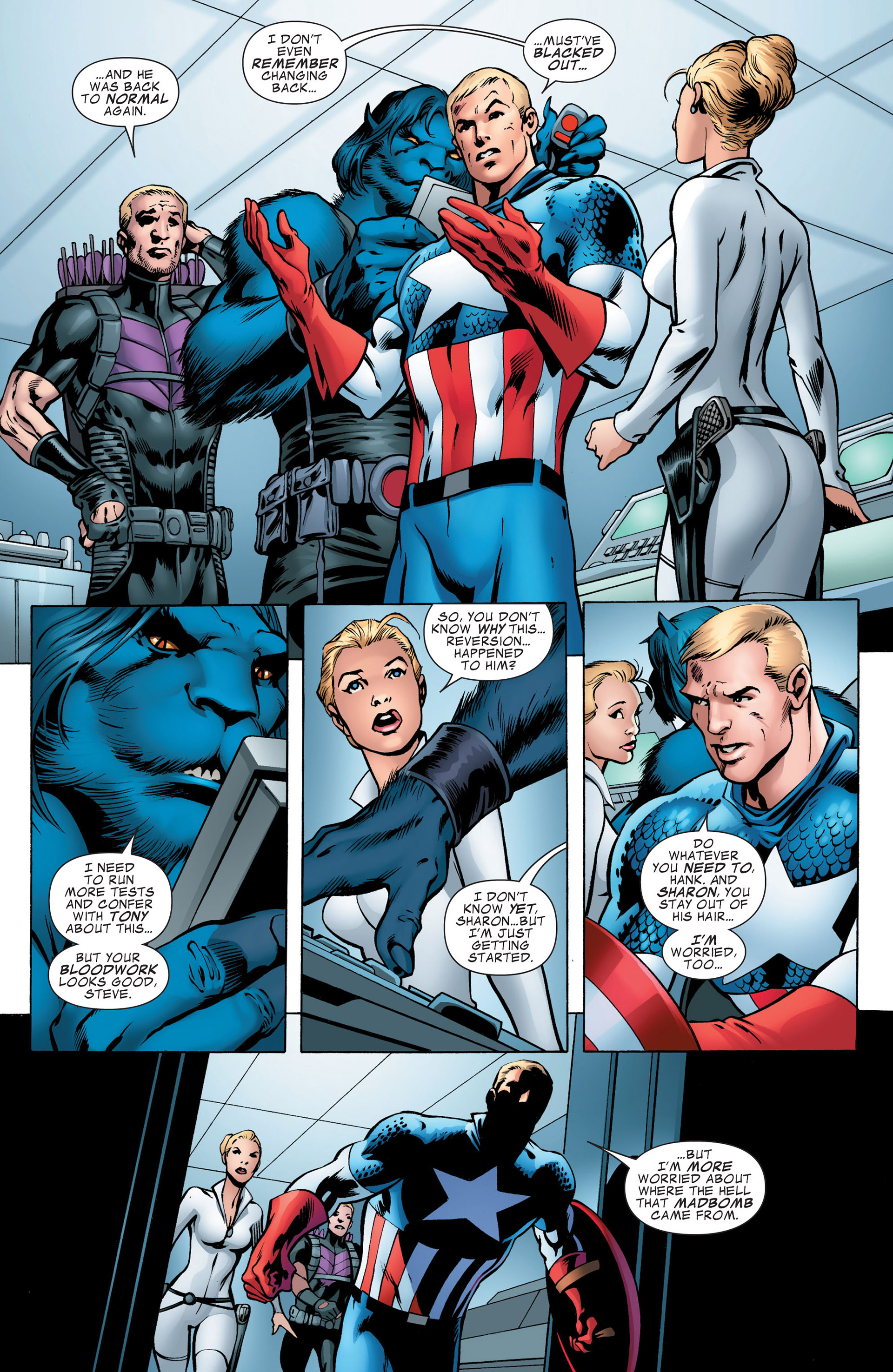 Captain America (2011) Issue #7 #7 - English 7