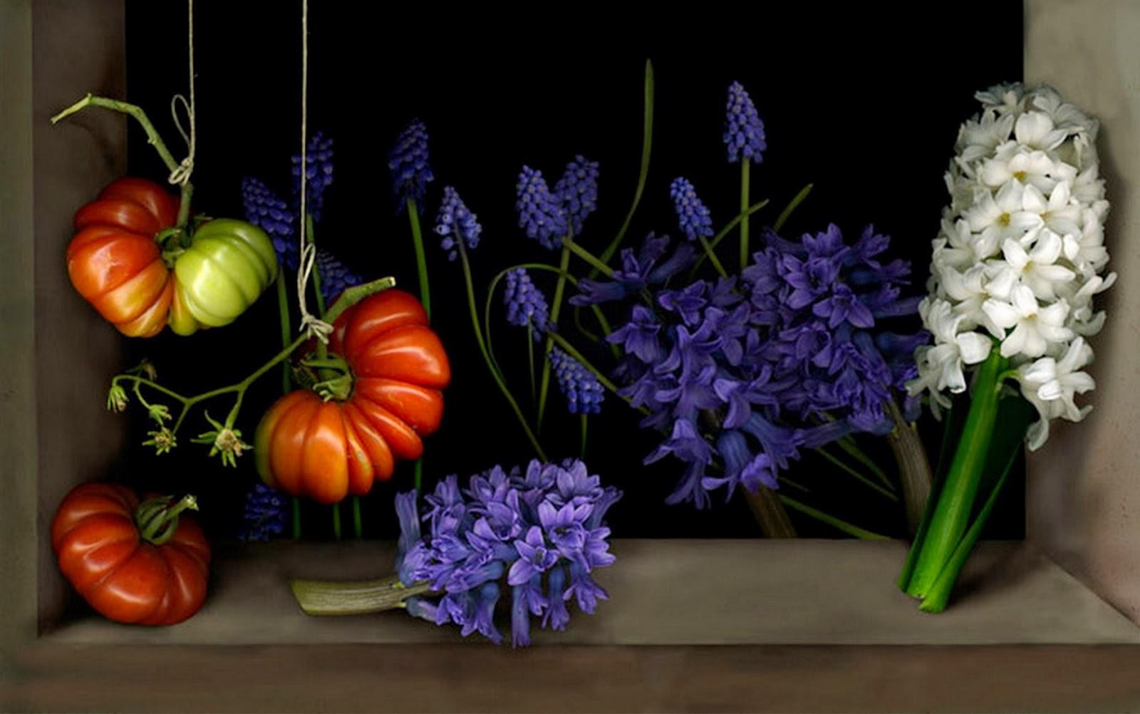 Cuadros modernos pinturas y dibujos cuadros de flores - Cuadros de dormitorios ...