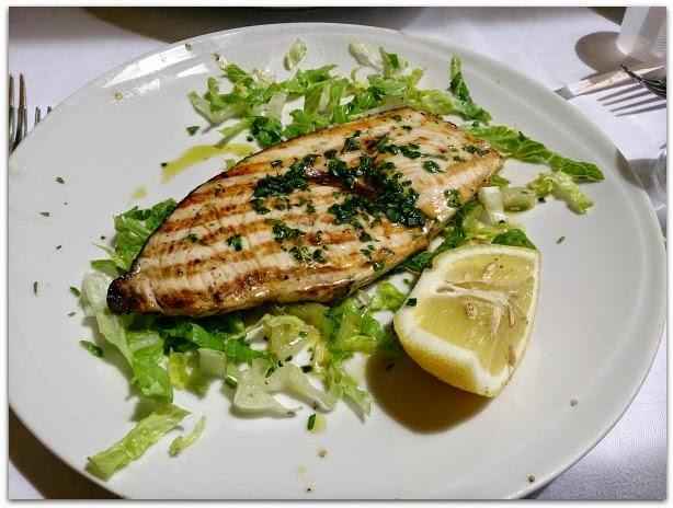 義大利菜食譜-鐵板煎旗魚排