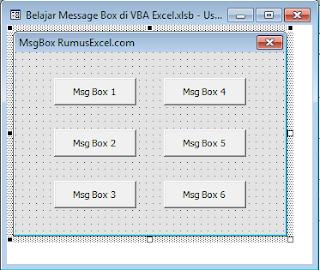 MsgBox VBA Excel