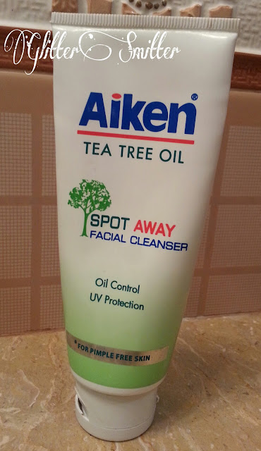 Aiken Spot Away Facial Cleanser!