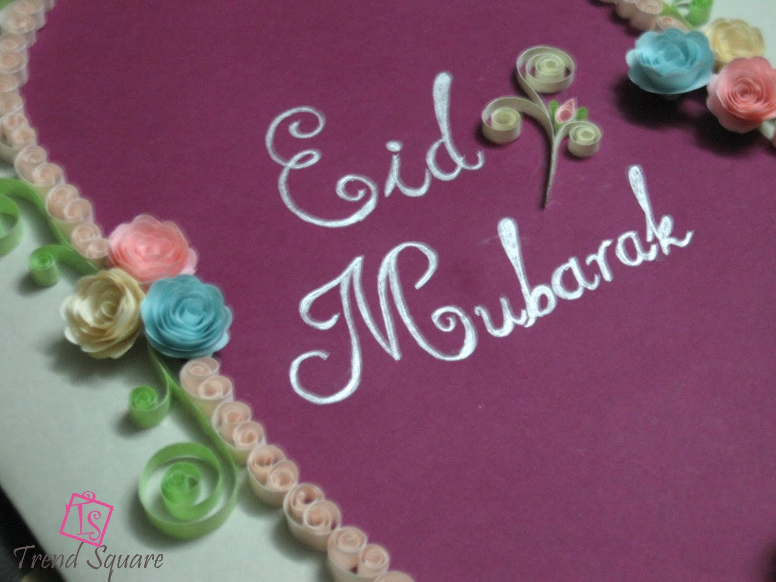 how to make eid cards at home video
