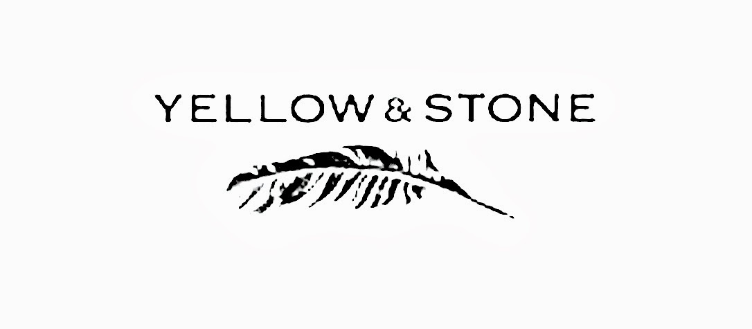 yellow and stone