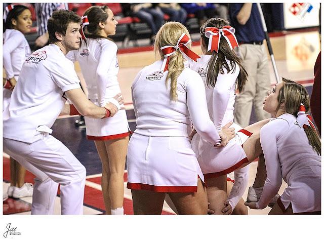 Liberty University Mens Basketball Liberty University Cheerleading