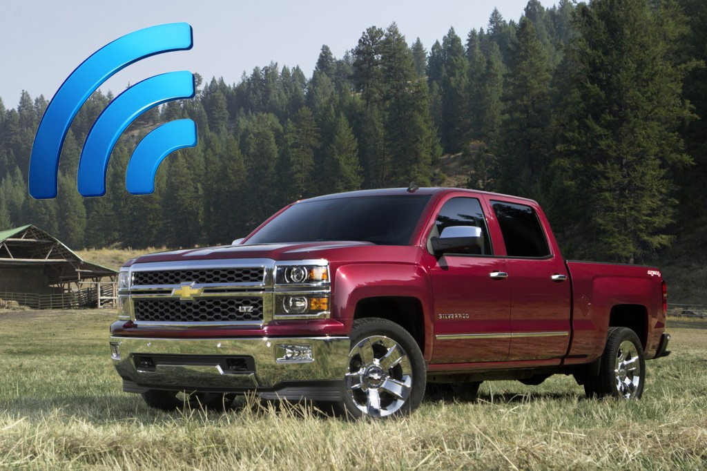 2015 Chevy Pickups Equipped With 4G LTE, Wi-Fi