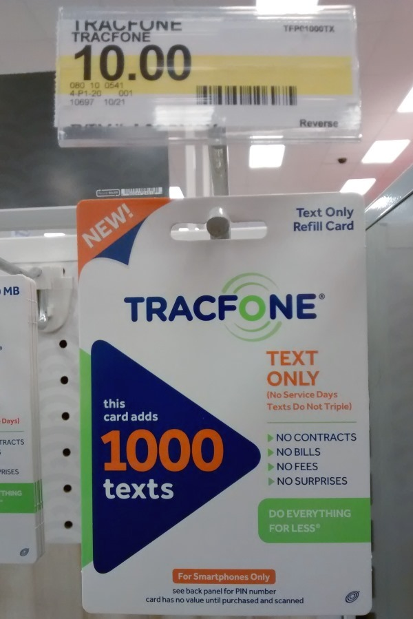 TracfoneReviewer: How to Buy Only Texts for your Tracfone ...