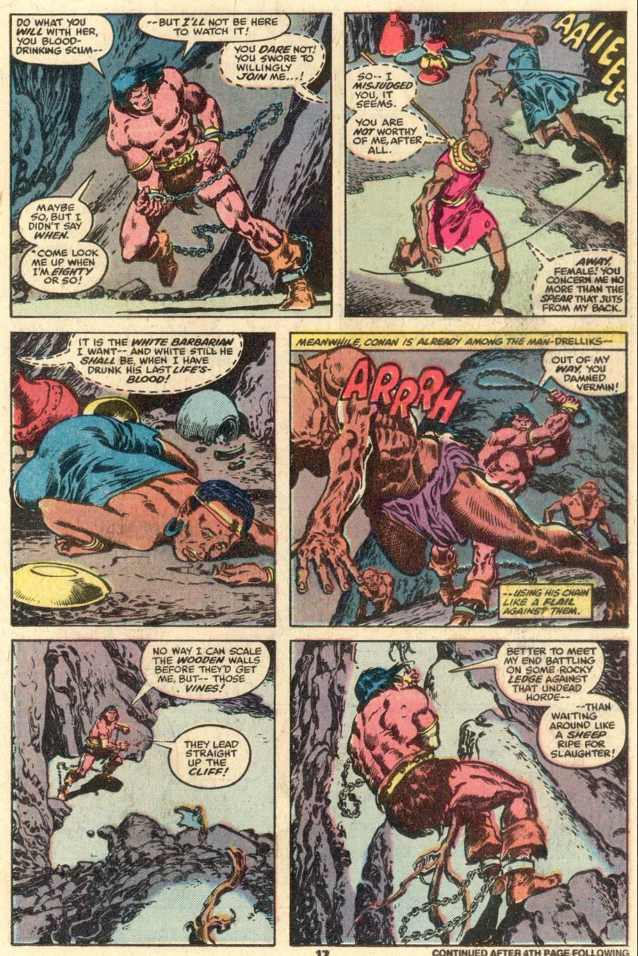 Conan the Barbarian (1970) Issue #103 #115 - English 12