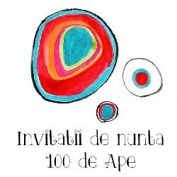Invitatii de nunta 100 de Ape