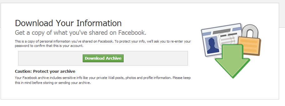 how to download from facbook 1 step