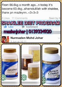 PROGRAM DIET SHAKLEE