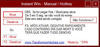 Instant wins hack transformice