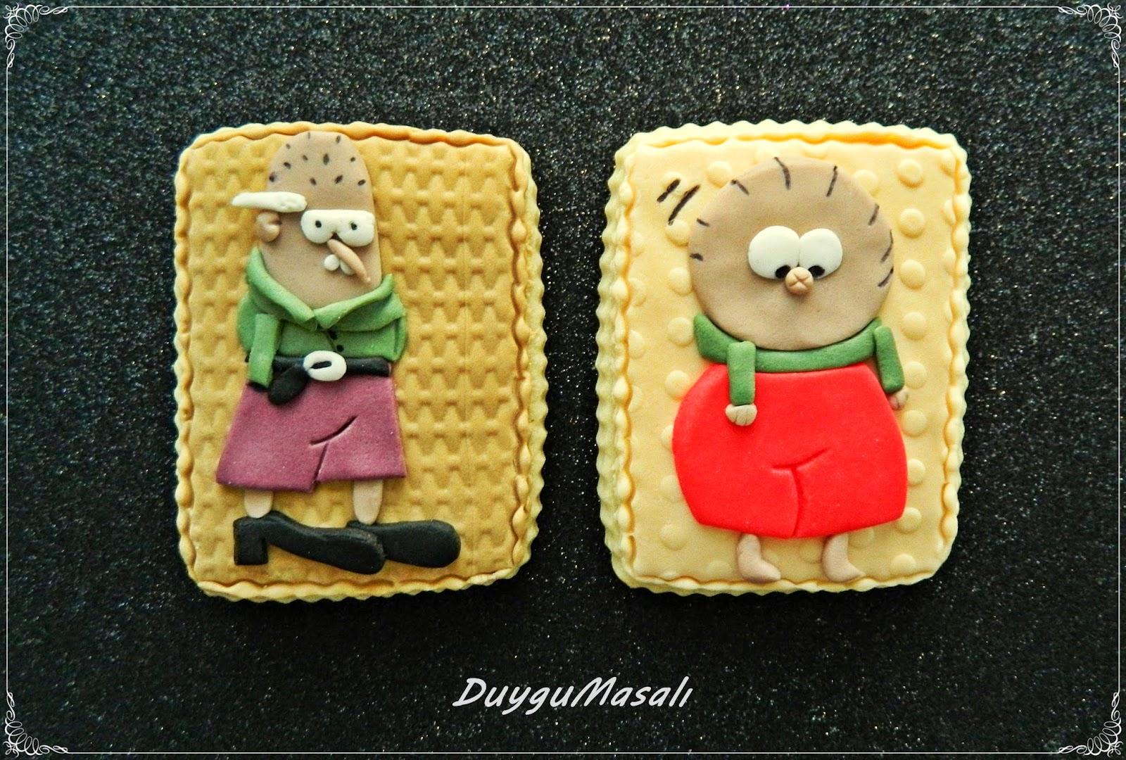 edirne çizgi karakter butik kurabiye